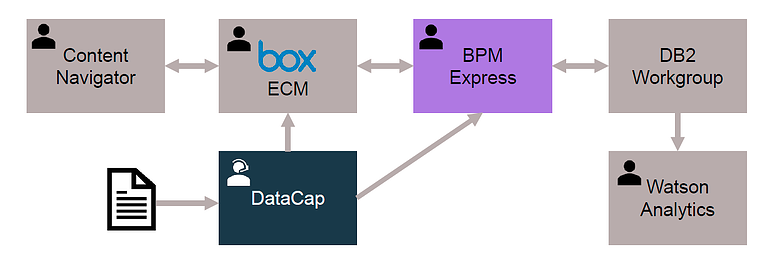 IBM BPM and DataCap solution infrastructure for the Customs and Logistics industry