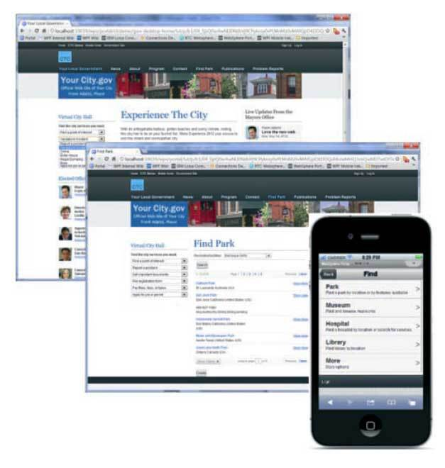 Developing IBM Web Experience Factory (WEF) applications for mobiles, tablets and desktops